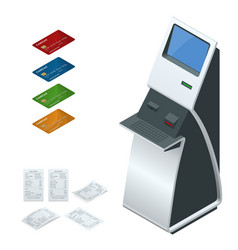 Isometric set online payment systems and vector