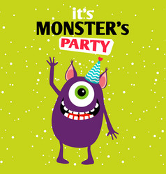 It is a party monster vector
