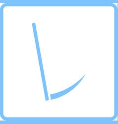 Scythe icon vector