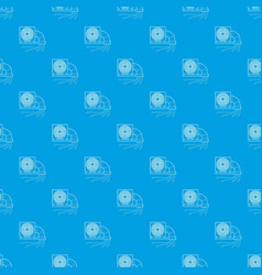system fan and pipe pattern seamless blue vector image
