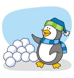 little penguin 4 vector image vector image
