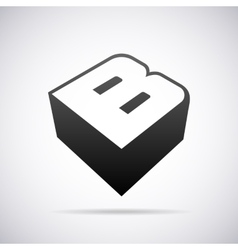 logo for letter B Design template vector image vector image