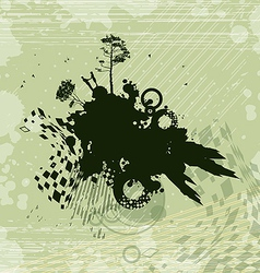 Romance Fantasy Concept Background vector image vector image