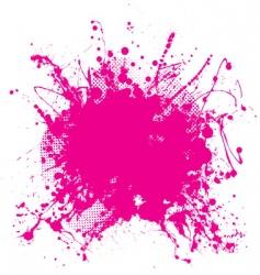grunge splat background vector image