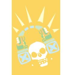 Headphones of the Maya vector image