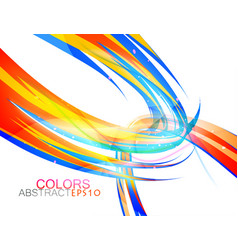 Abstract round colors vector