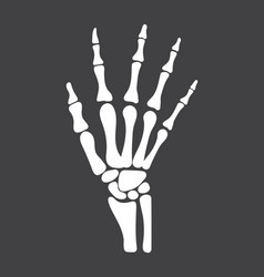 Arm icon radiography and x-ray concept vector