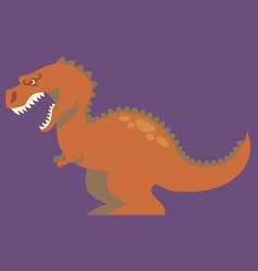 Cartoon of dinosaur vector