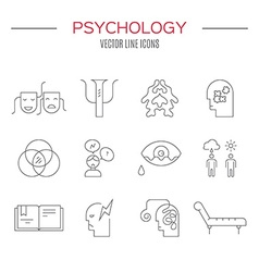 Counseling Icon Collection vector image