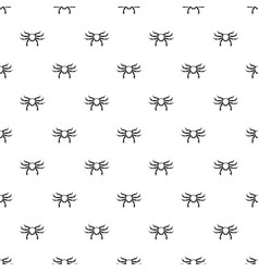 Crab sea animal pattern vector