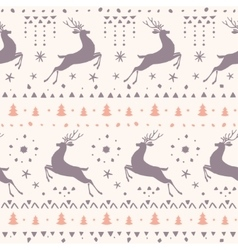 Deer amazing seamless vector