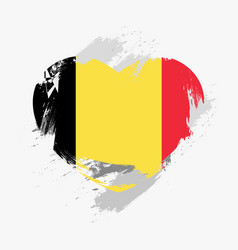 Flag of belgium vector