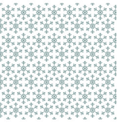 happy christmas background snowflakes winter vector image