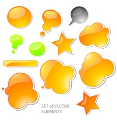 Icon set vector