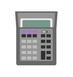 isolated calculator icon vector image