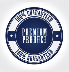 Premium product badge vector
