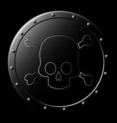 skull graphics vector image