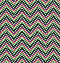 Colorful zig zag stripe pattern background design vector image