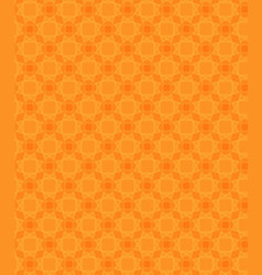 Abstract circles orange pattern background vector
