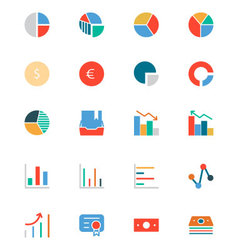 Banking and Finance Colored Icons 11 vector