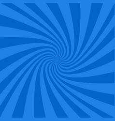 blue abstract spiral design background vector image