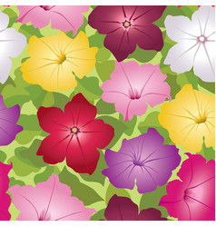Floral seamless pattern decorative flower vector