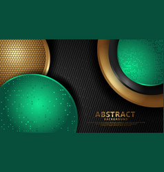 Luxurious and elegant abstract decoration circle vector