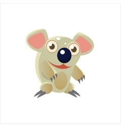 Smiling Koala Bear vector
