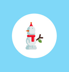 snowman icon sign symbol vector image