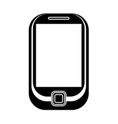 cellphone mobile technology pictogram vector image