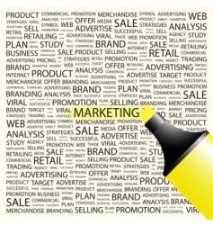 marketing vector image vector image