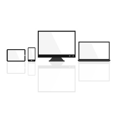 modern device vector image vector image