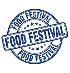 food festival vector image vector image