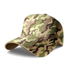 Army cap vector