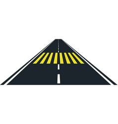crosswalk vector image