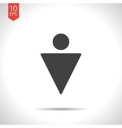 man icon Eps10 vector image