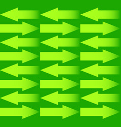 repeatable arrow pattern with arrows in opposite vector image