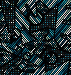 urban seamless texture vector image