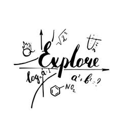 Explore hand drawn positive quote vector