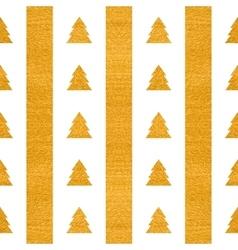 Festive seamless geometric gold textured pattern vector image