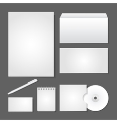 Office supply set design vector image vector image