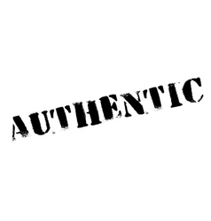 Authentic stamp rubber grunge vector