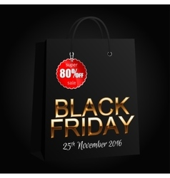 Black Friday 7 vector image vector image