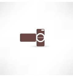 digital video camera vector image vector image