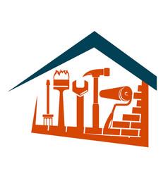 home repair design vector image