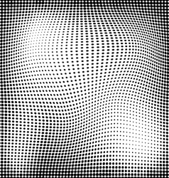 Abstract geometry seamless halftone pattern vector image