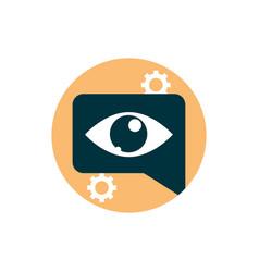 Digital marketing message vision observation vector