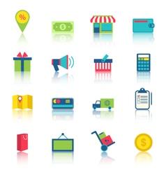 E-commerce Shopping Symbo vector image