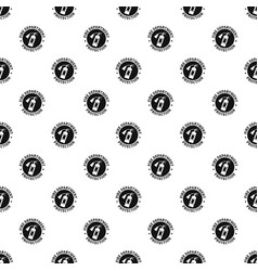 Fire department protection pattern seamless vector