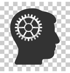 Intellect Cog Icon vector
